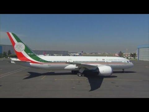 Avión Presidencial Se Despide De México Y Se Pondrá A La