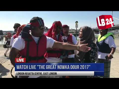 "THE GREAT NOWKA DOUR 2017"" from London Regatta Centre, East London"