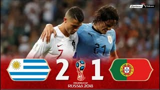 Uruguay 2 x 1 Portugal ● 2018 World Cup Extended Goals 10 Minute Highlights HD720P HD