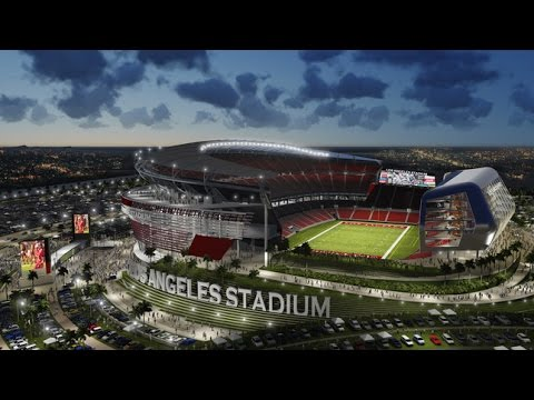 Carson Approves 1.7 Billion NFL LA Stadium