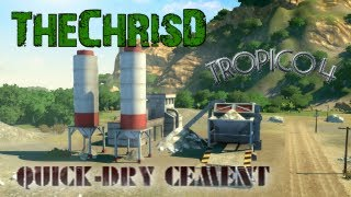 Tropico 4: Quick-Dry Cement DLC Mission