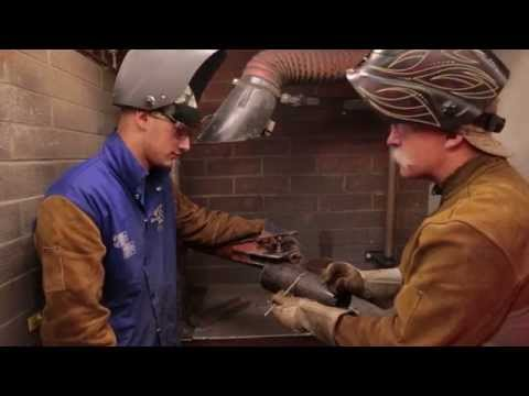 Welding at American River College