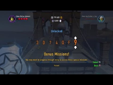 LEGO city undercover - ALL CHEAT CODES - YouTube