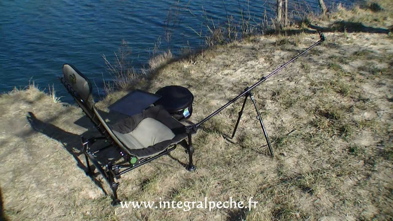 Pack chaise korum feeder chair kchair 11 youtube for Chaise youtubeur
