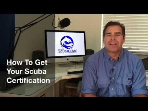 How To Get Your Scuba Certification