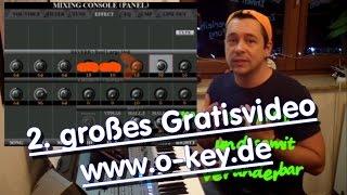 """TONKLANG 2""  Keyboard spielen lernen für Anfänger - 2. freies Video der O-KEY Onlinemusikschule"