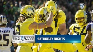 Highlights: Oregon football takes home thrilling victory over Washington in OT