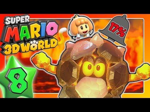 Schaffen wir mehr als 17% aktivierter Glocken? 🐱 SUPER MARIO 3D WORLD Part 8