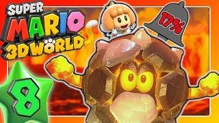 SUPER MARIO 3D WORLD 🐱 Part 8: In World 5 über Abonnieren vs. Glocke