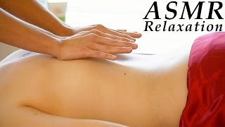 Relaxing ASMR Massage # 2 , Softly Spoken & Gentle Whisper Full Body Massage, Back Massage