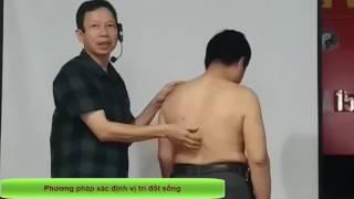 Tác động cột sống, Cách xác định vị trí đốt sống, xác định 11 vùng nhiệt độ, thầy Nguyễn Văn Ngọc