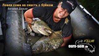 Рыбалка на сома: Ловля сома на снасть с мини-буйком