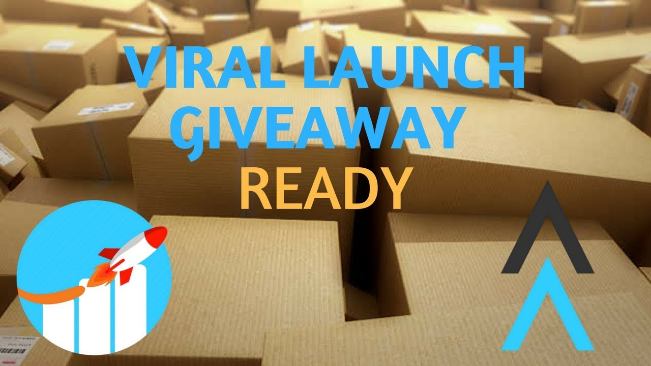 viral launch giveaway