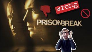 PRISON BREAK DE RETOUR : POURQUOI ?!