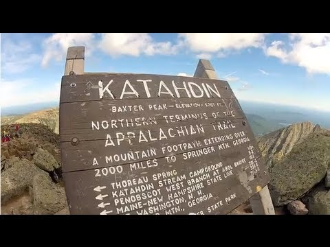 Hiking Mt. Katahdin in Baxter State Park, Maine | Abol Trail