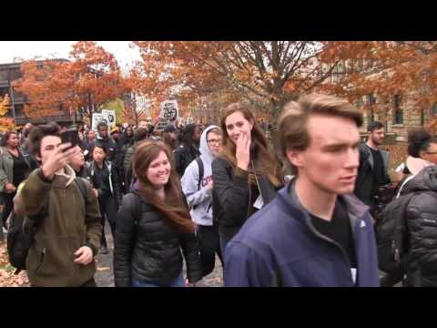 The People's Walkout at Cornell University 11/11/16