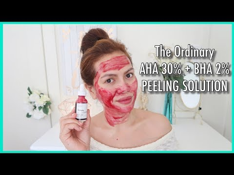 AHA 30% + BHA 2% Peeling Solution