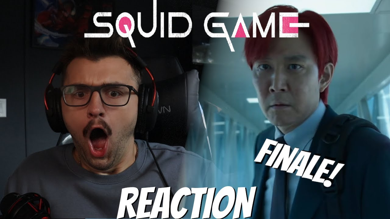 """Download Squid Game Episode 9 Reaction - 오징어게임- 1x9 """"One Lucky Day"""""""
