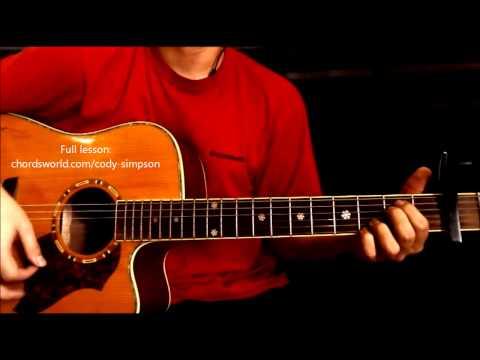 "Pretty Brown Eyes Chords ""Cody Simpson"" ChordsWorld Guitar Tutorial"