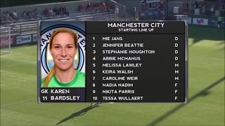ICC Women's Exhibition Match: Manchester City Women vs. PSG Feminines