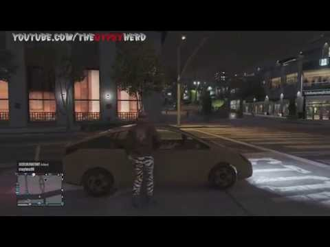 Little Kid Picks Up Ghetto Chick On GTA 5 (Voice Changer Trolling)