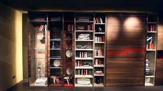 Fimar - Salone Internazionale del Mobile - Milano 2014 - librerie design, soggiorni moderni, letti