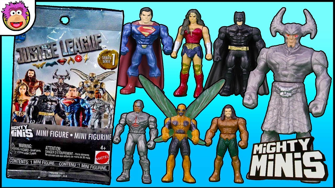 NEW LOT of 2 Justice League Mighty Minis Series 2 Blind Bags by Mattel