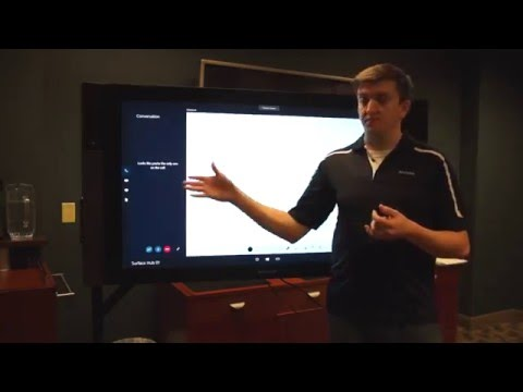 Microsoft Surface Hub Solves Common Meeting Challenges