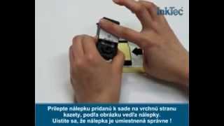 Ako naplniť cartridge Canon PG-510 a Canon PG-512 plniacou sadou - presný návod