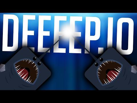 Deeeep.io - All New Animals! The Dreaded Worms! - Deep Sea & More! - Deeeep.io Gameplay Highlights