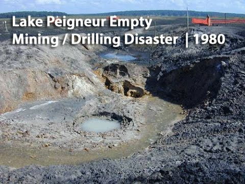 Lake Peigneur Drilling Accident