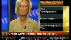 In-Depth Look - Credit Card Delinquencies Up 11% - Bloomberg