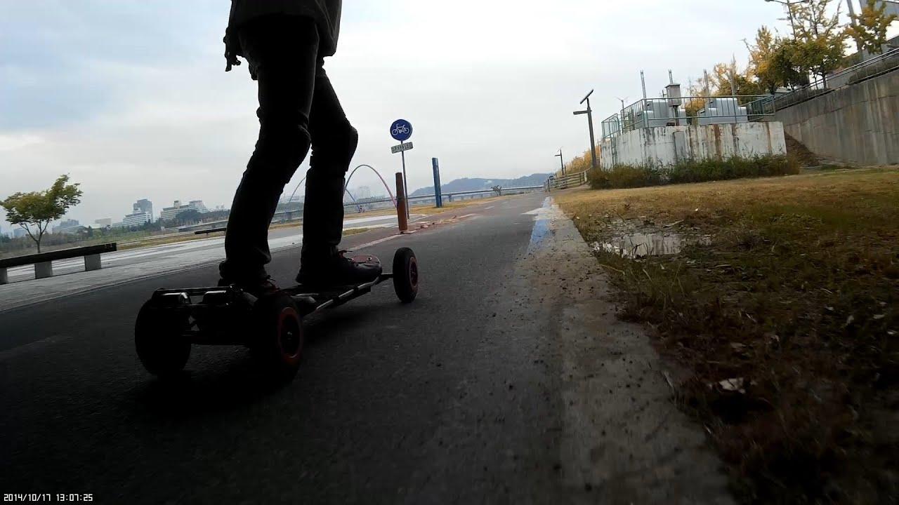 CRAZY RC] Electric Mountain board  Riding #2 전동마운틴보드 라이딩
