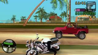 GTA Vice City Stories PPSSPP Police chase & busted [HD]