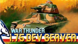 War Thunder: 1.75 Dev Server (French Tanks)