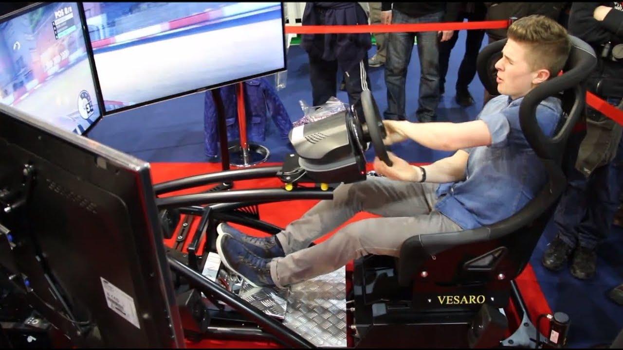 Vesaro Racing Seat Amp F1 Simulator Close Up On Hydraulics