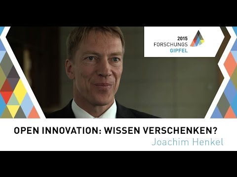 Joachim Henkel: Open Innovation: Wissen verschenken?
