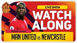 MANCHESTER UNITED vs NEWCASTLE | With Mark Goldbridge LIVE