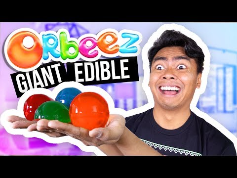 Thumbnail: DIY GIANT EDIBLE ORBEEZ! (How To Make)