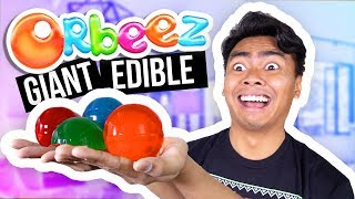 DIY GIANT EDIBLE ORBEEZ! (How To Make) by : Guava Juice