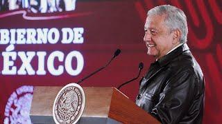 Respalda el 59.5 por ciento Termoeléctrica Huexca. Conferencia presidente AMLO
