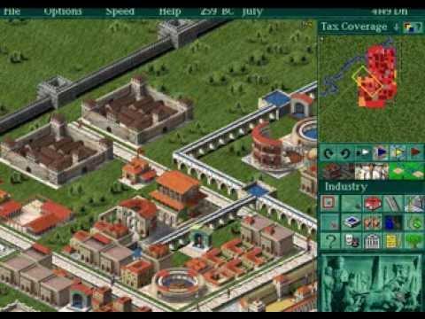IE 19 PC games review - Caesar II (1995)