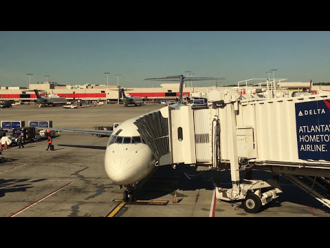 Delta Airlines MD-88 Full Flight Atlanta to Minneapolis-Saint Paul