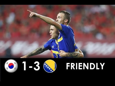 Južna Koreja 1 - 3 Bosna i Hercegovina | Svi golovi i šanse | 2018