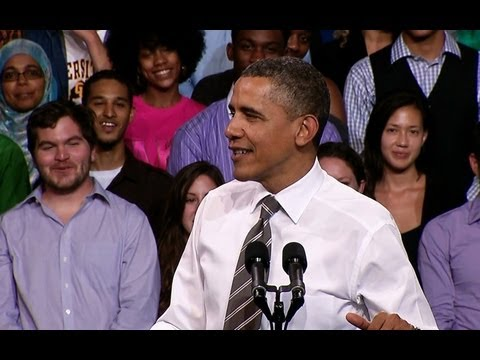 President Obama Speaks on Student Loan Interest Rates in Colorado
