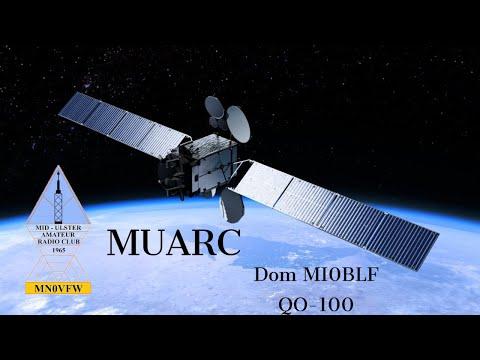 Dom M0BLF On QO-100