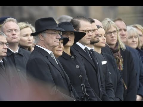 Stockholm attack: Sweden observes a minute of silence. #openstockholm