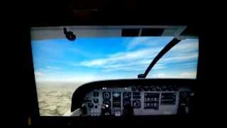 Touch & Go Pattern Flight in the Cessna Single Engine TurboProp