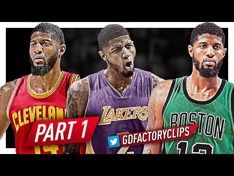 Paul George EPIC Offense Highlights Montage 2016/2017 (Part 1) - BEAST MODE!