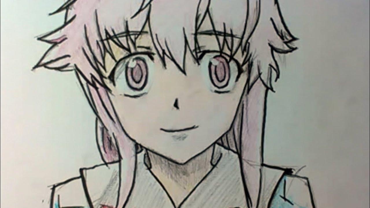 Рисовать аниме юно гасай